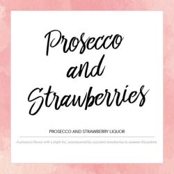 Pink Label Prosecco & Strawberries