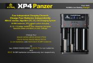 Xtar XP4 Battery Charger
